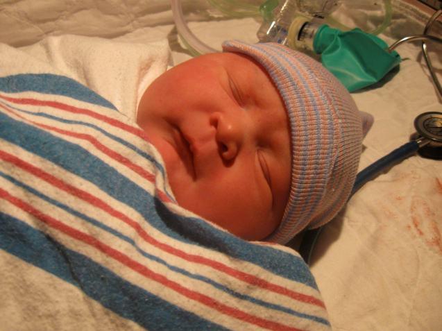 Sarah WhiteBig Baby ProjectMarch 21 near Prien, LA 1st VBAC 10lbs 6oz